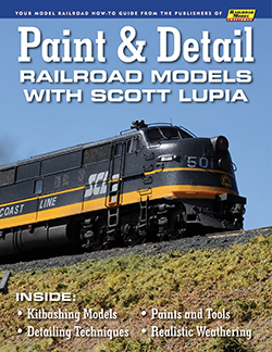 Paint & Detail Railroad Models with Scott Lupia