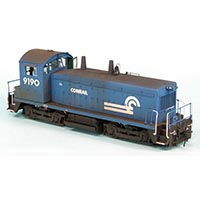 Detail and Upgrade a Conrail NW2 in HO