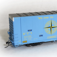 Tangent Delivers New Run of Popular Greenville 86' Boxcars