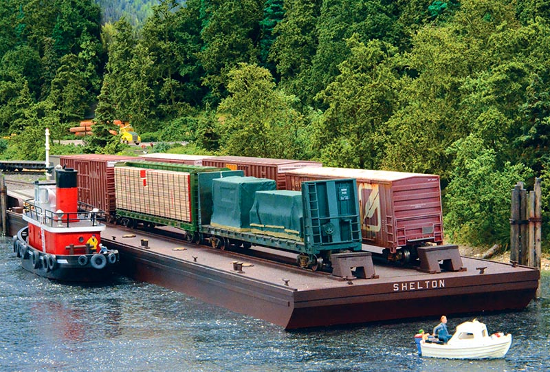 Barge Operations on Your Layout
