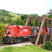 CP Rail in Vermont (in a Basement)