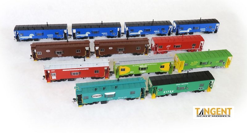Tangent Scale Models Releases All-New Caboose Model